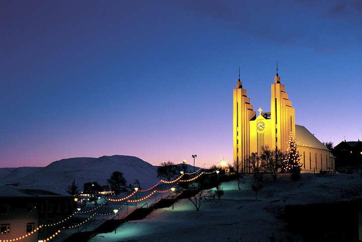 Akureyri - Iceland - winter